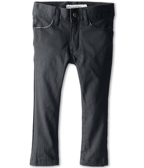 Appaman Kids - Super Soft Skinny Twill Pants (Toddler/Little Kids/Big Kids) (Vintage Black) Boy's Casual Pants