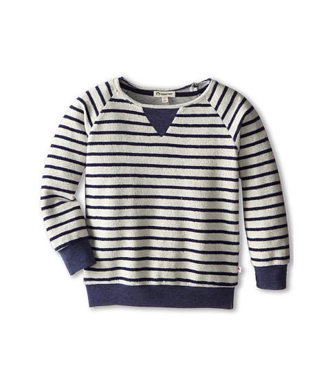 Appaman Kids - Super Soft Raglan Pullover Sweatshirt (Toddler/Little Kids/Big Kids) (Stripes) Boy