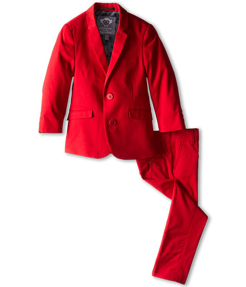 Appaman Kids - Classic Mod Suit (Toddler/Little Kids/Big Kids) (Red) Boy