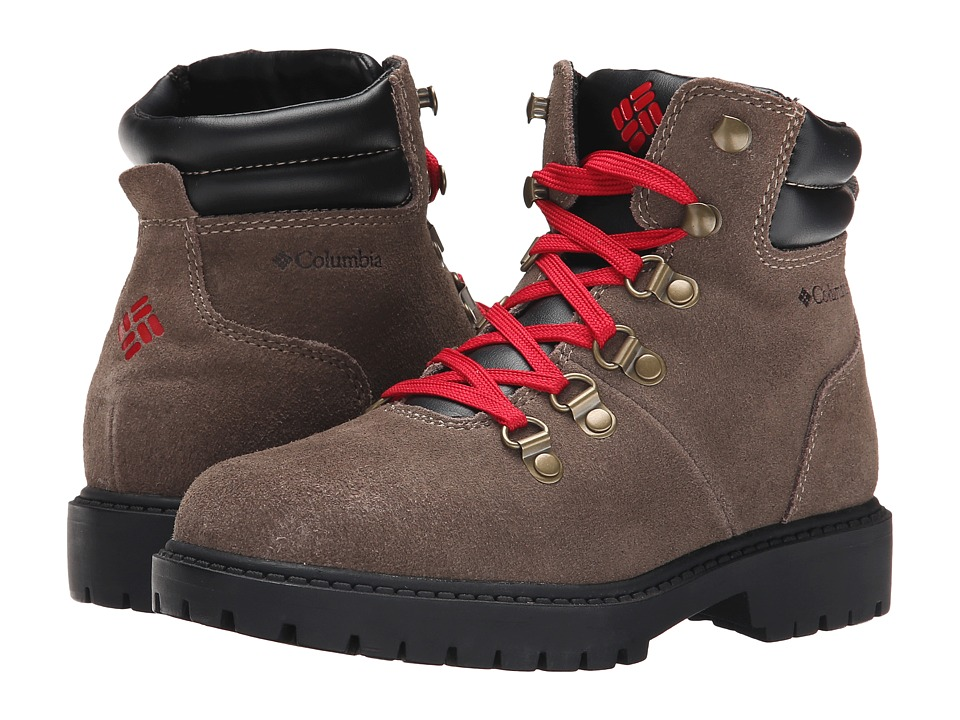 Columbia Kids - Teewinot Stomper Boot (Little Kid/Big Kid) (Mud) Boys Shoes