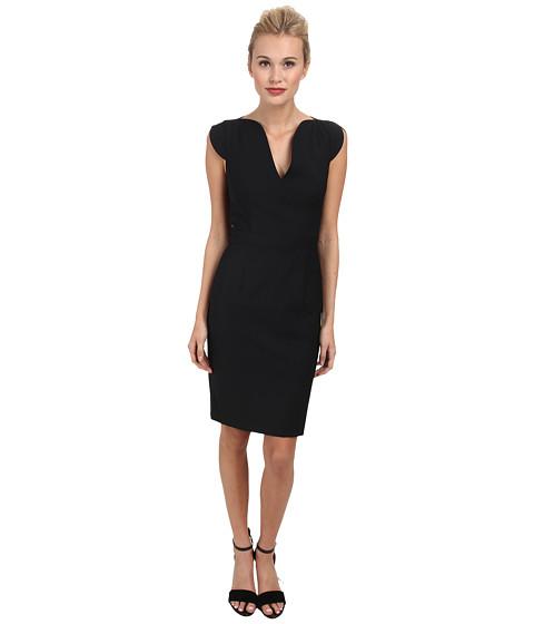 French Connection - Mimi Pinstripe Dress 71DFX (Black) Women