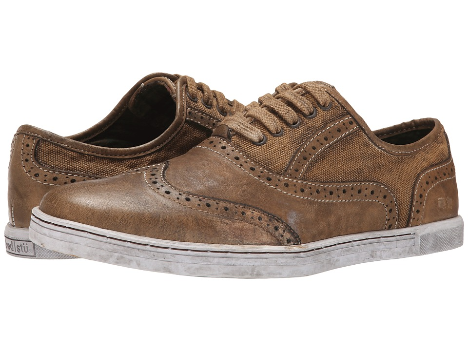 Bed Stu - Bauer (Brown Garment Dye Canvas) Men's Lace up casual Shoes