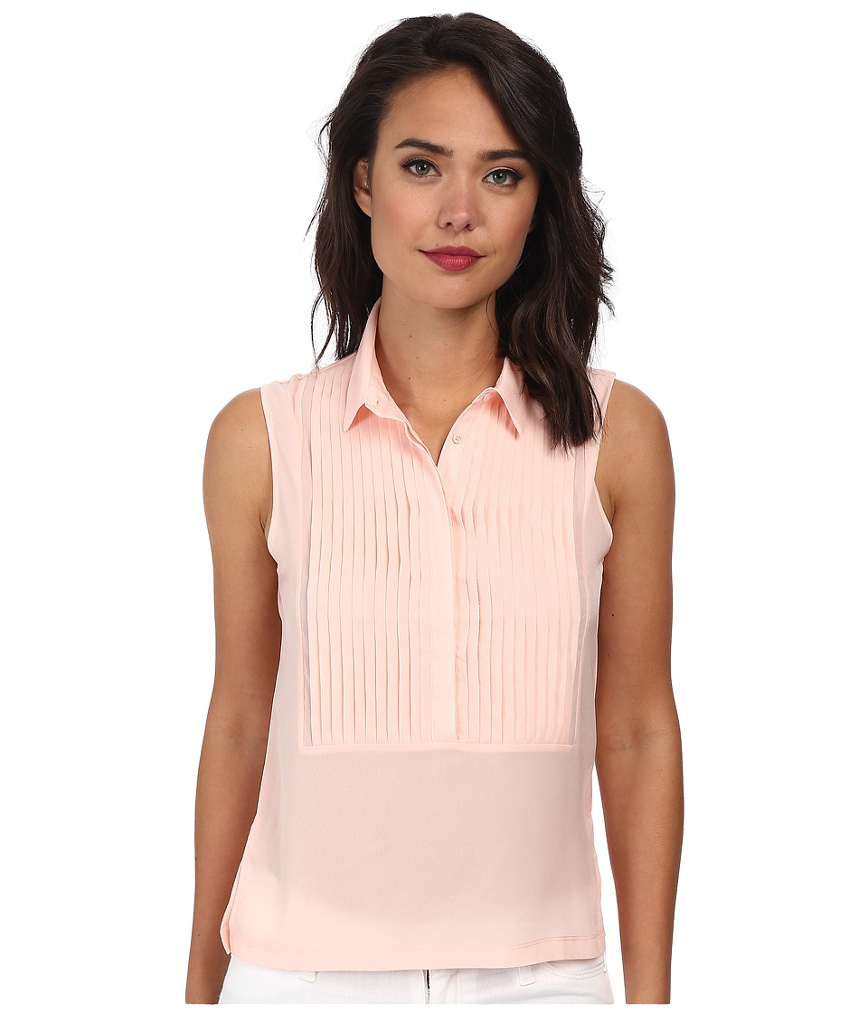 French Connection - Polly Plains Top 6DBI (Deco Blush) Women's Clothing