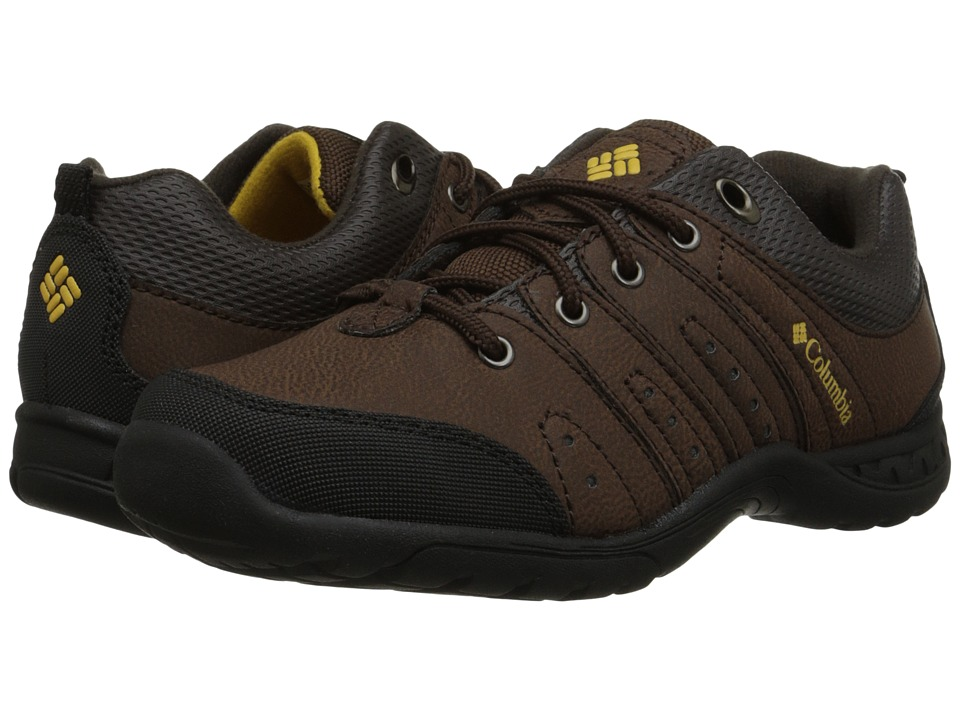 Columbia Kids - Adventurer (Little Kid/Big Kid) (Mud) Boys Shoes