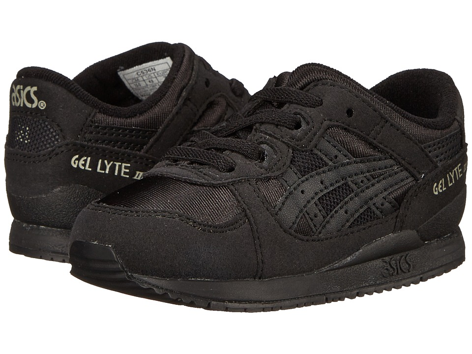 ASICS Kids Gel-Lyte III (Toddler) (Black/Black) Boys Shoes