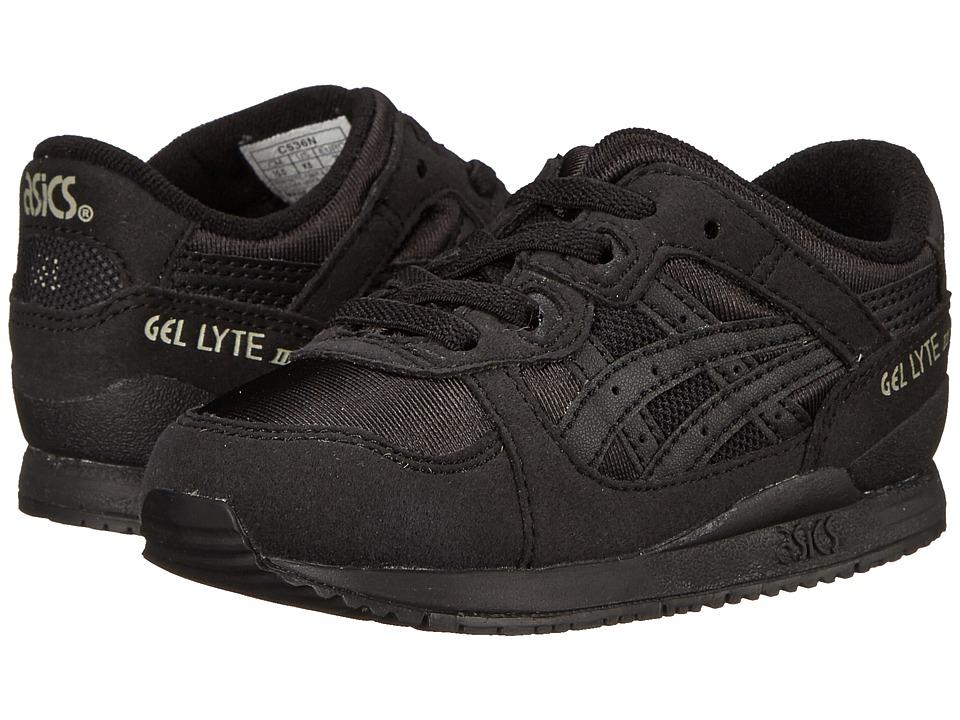 ASICS Kids Gel-Lytetm III (Toddler) (Black/Black) Boys Shoes
