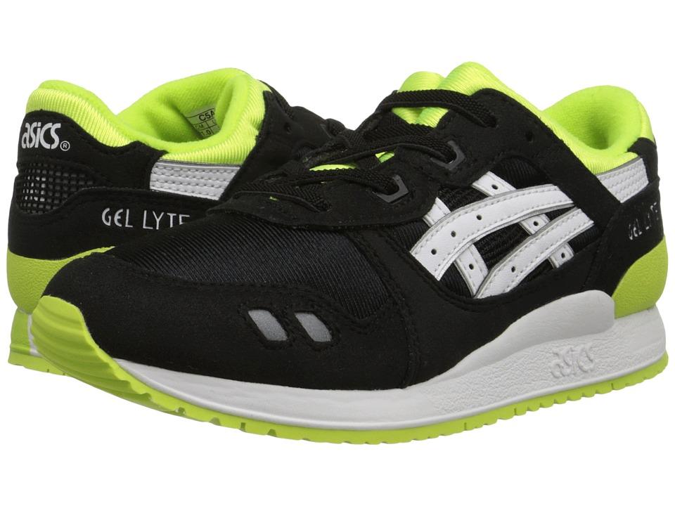 ASICS Kids - Gel-Lytetm III (Toddler/Little Kid) (Black/White) Boys Shoes