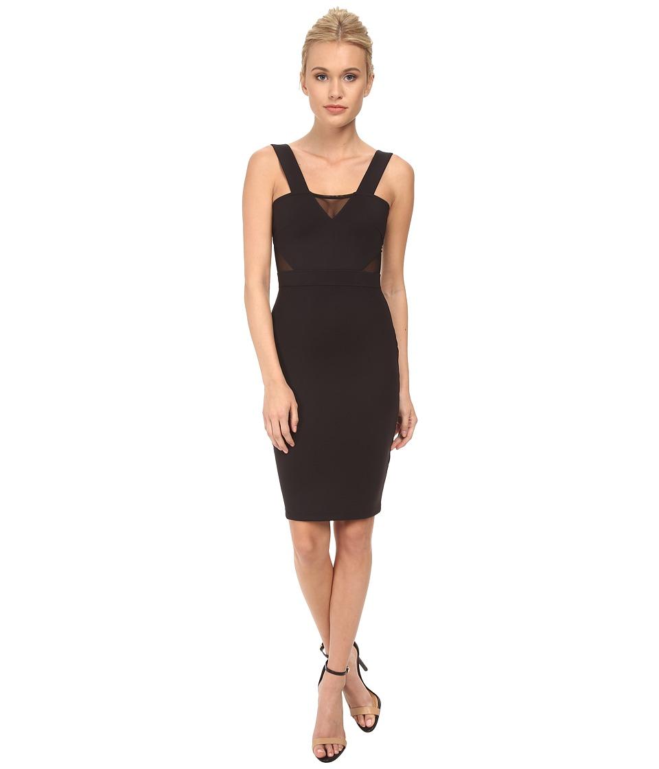 French Connection - Siciliy Scuba Dress 71DJD (Black) Women's Dress