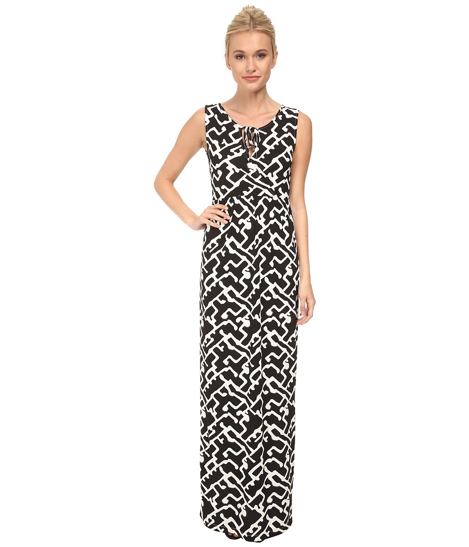 French Connection - Downtown Grid Dress 71DCZ (Black Multi) Women's Dress