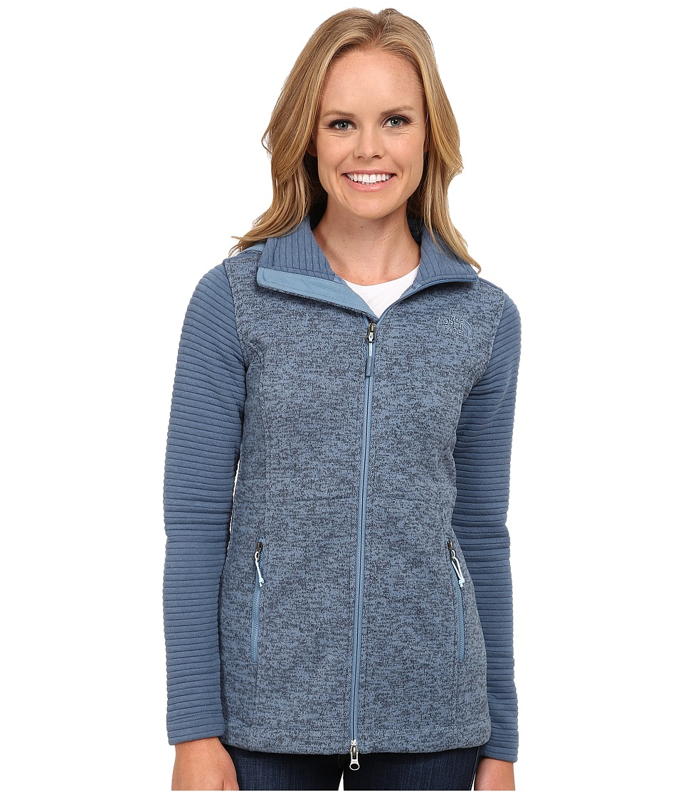 The North Face Indi Insulated Hoodie (Cool Blue Heather/Cool Blue) Women