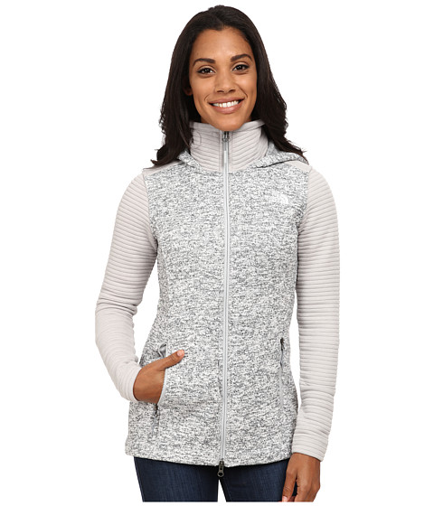 The North Face - Indi Insulated Hoodie (High Rise Grey Heather/High Rise Grey) Women's Coat