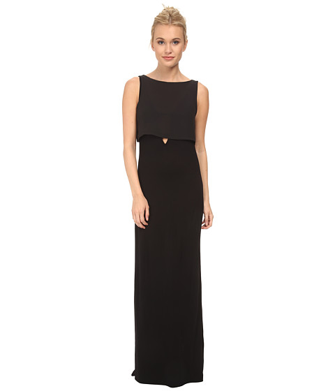 French Connection - Midas Maxi Dress 71DHO (Black) Women's Dress