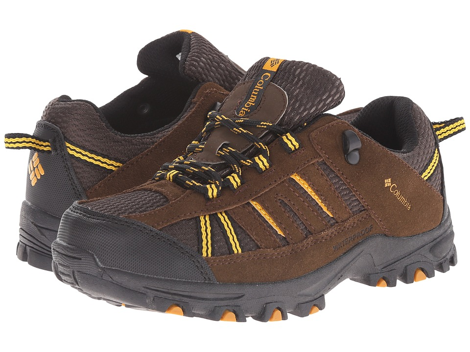 Columbia Kids - Pisgah Peak Waterproof (Toddler/Little Kid/Big Kid) (Mud) Kids Shoes