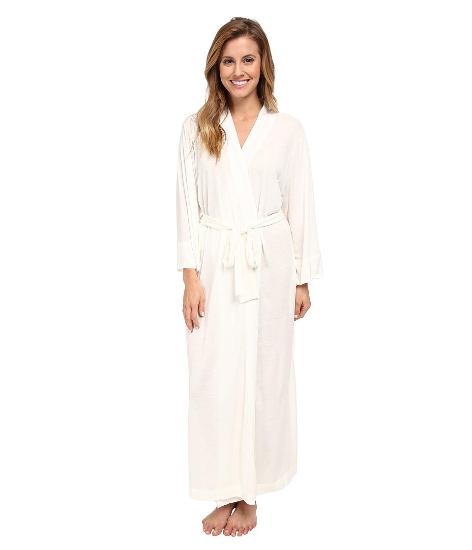 Natori - Shangri-La Robe (Ivory) Women's Robe