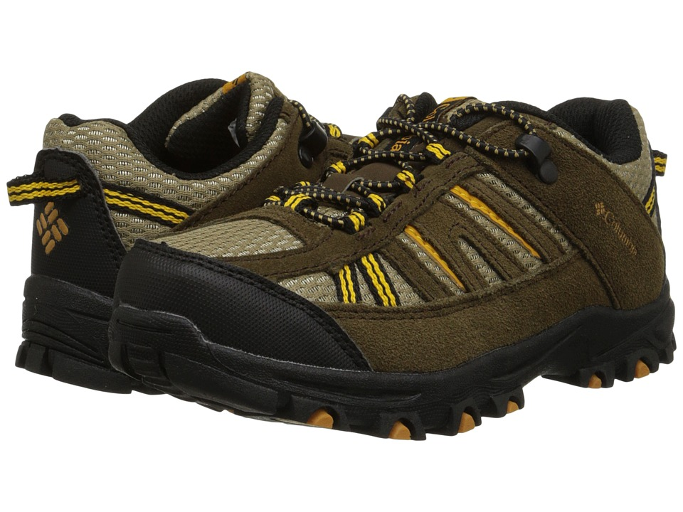 Columbia Kids - Pisgah Peak (Toddler/Little Kid/Big Kid) (Mud) Kids Shoes