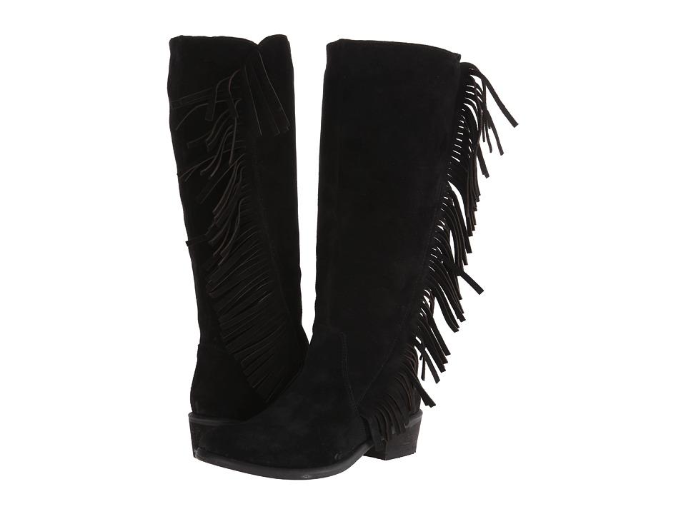 Roper - On The Fringe (Black) Cowboy Boots
