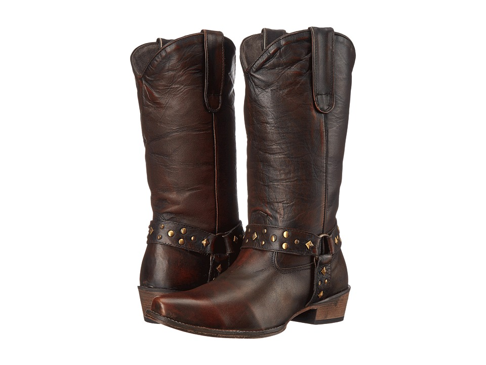 Roper - Studded (Brown) Cowboy Boots