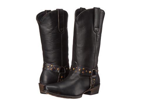 Roper - Studded (Black) Cowboy Boots