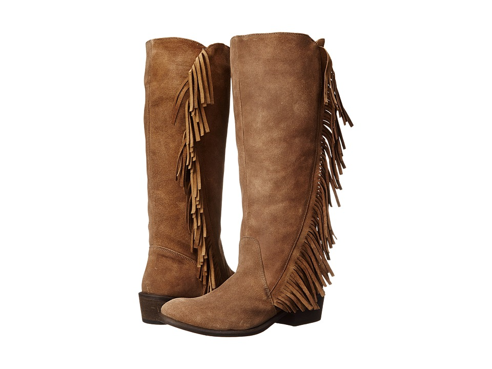 Roper On The Fringe (Light Beige) Cowboy Boots