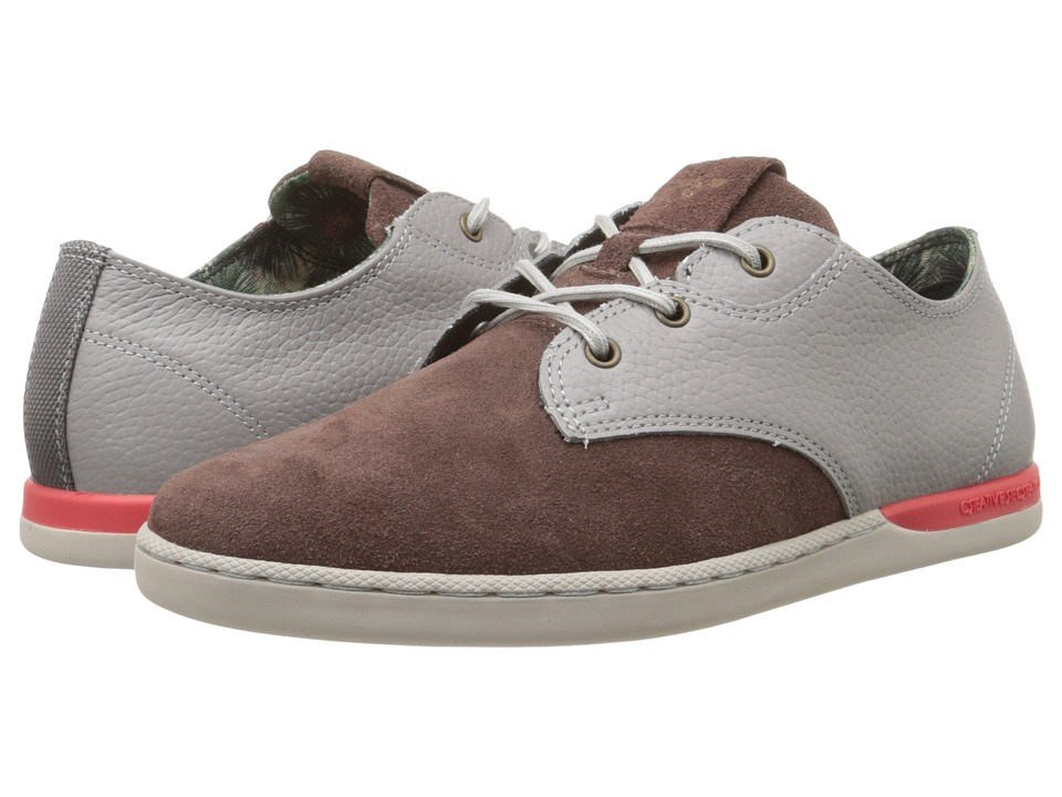 Creative Recreation - Vito Lo (Grey/Brown/Red) Men's Lace up casual Shoes
