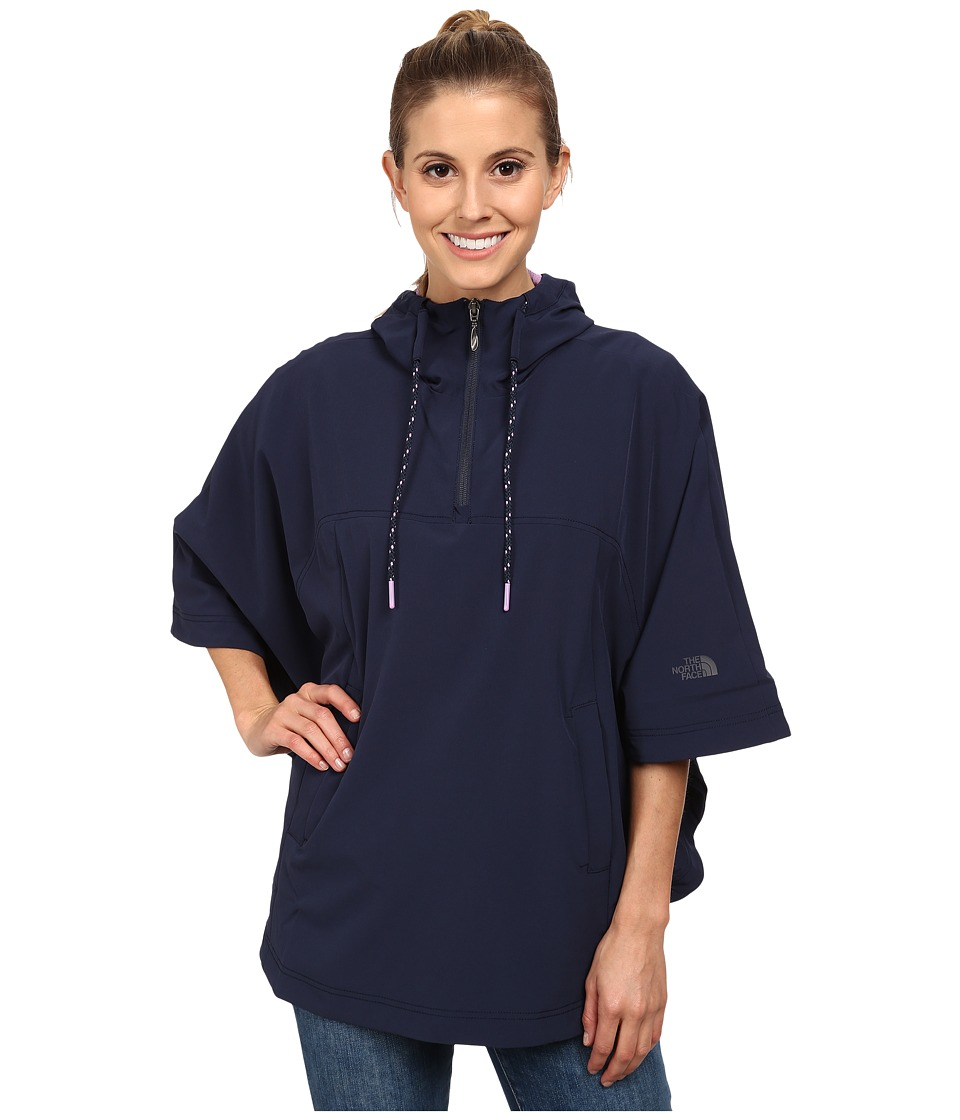 The North Face - Vida Poncho (Cosmic Blue) Women's Sweatshirt