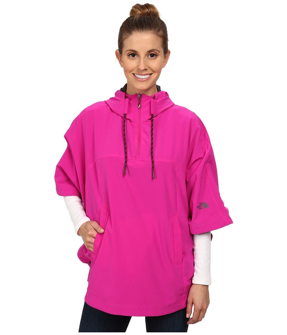 The North Face - Vida Poncho (Luminous Pink) Women's Sweatshirt