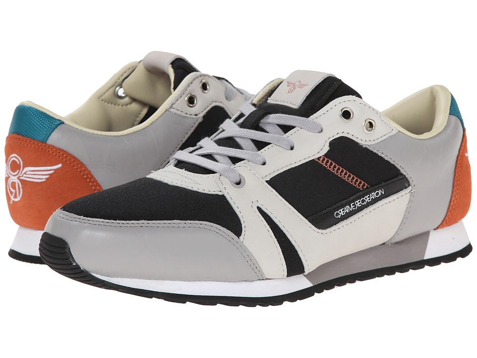 Creative Recreation - Casso (Charcoal/Papaya/Grey) Men's Shoes