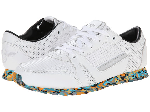 Creative Recreation - Casso (White/Marble) Men