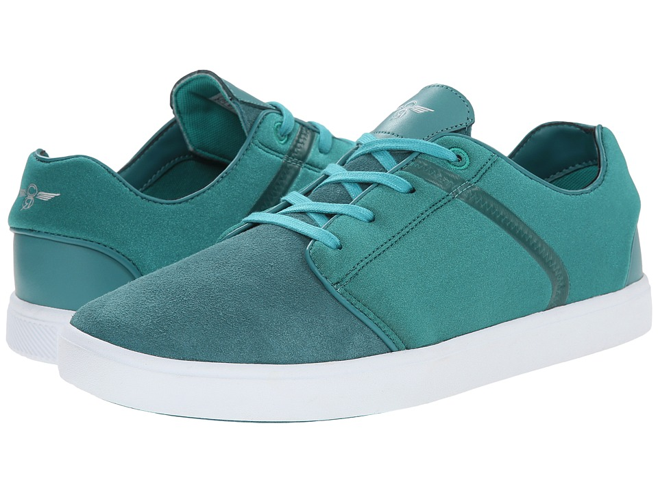 Creative Recreation - Santos (Teal/White) Men's Lace up casual Shoes