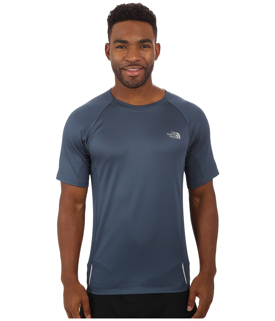 The North Face - Isolite Short Sleeve Shirt (Conquer Blue Heather) Men's T Shirt