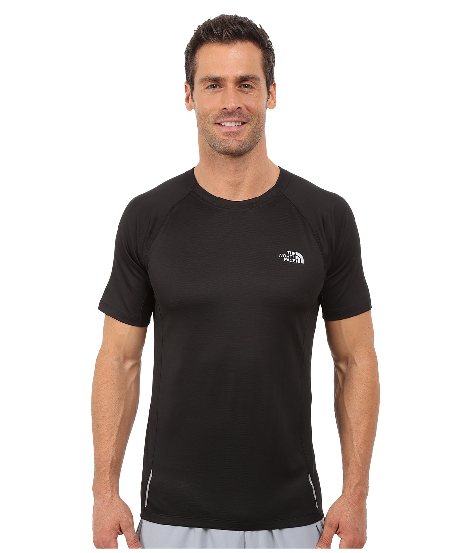 The North Face Isolite Short Sleeve Shirt (TNF Black Heather) Men