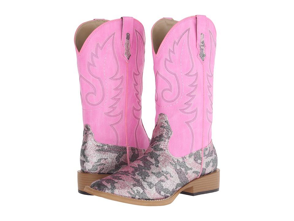 Roper Pretty Camo (Pink) Cowboy Boots