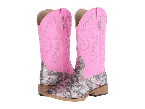 Roper - Pretty Camo (Pink) Cowboy Boots