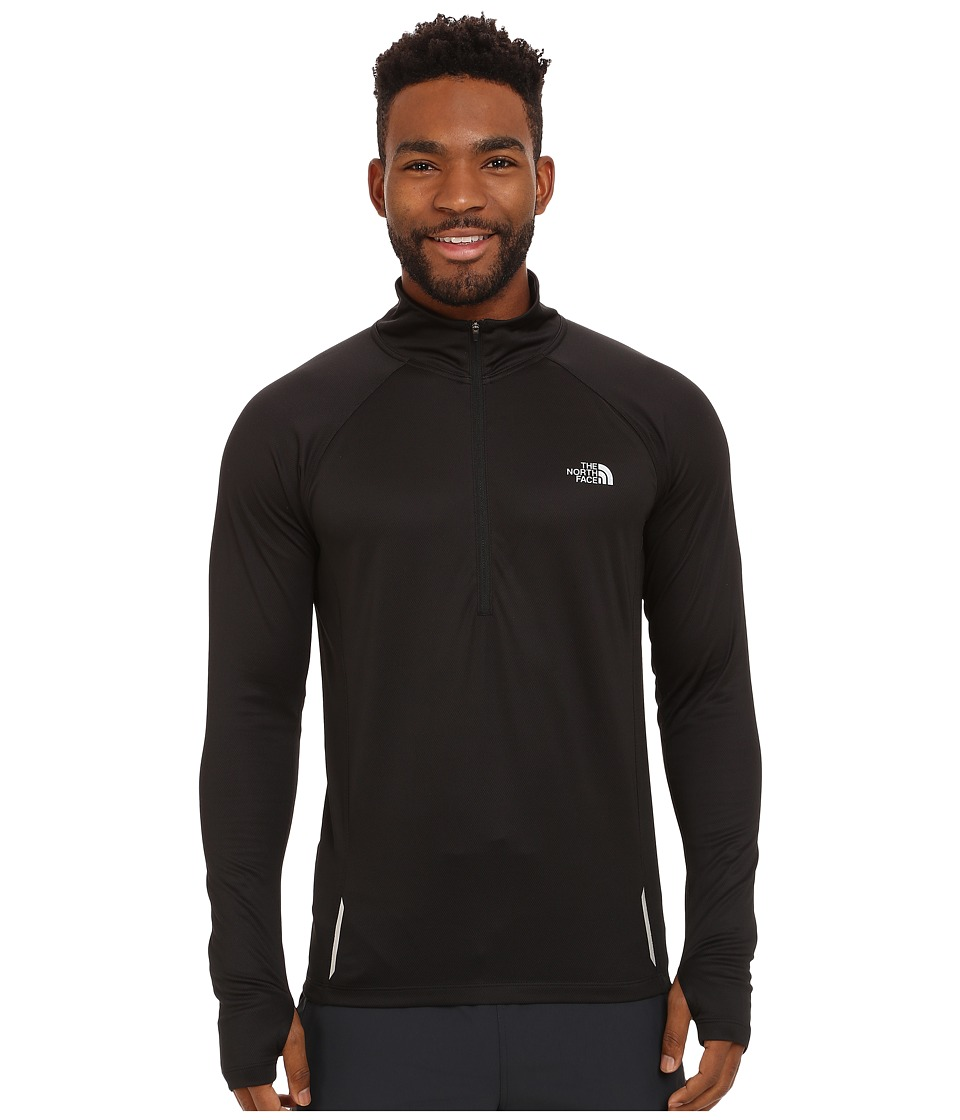 The North Face - Isolite 1/2 Zip Pullover (TNF Black Heather) Men's Long Sleeve Pullover