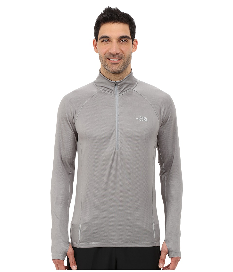 The North Face - Isolite 1/2 Zip Pullover (Monument Grey Heather) Men's Long Sleeve Pullover