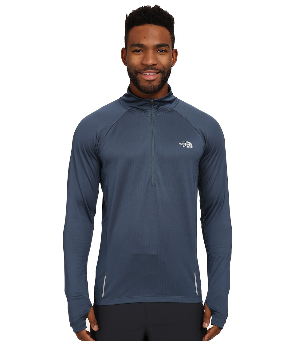 The North Face - Isolite 1/2 Zip Pullover (Conquer Blue Heather) Men's Long Sleeve Pullover