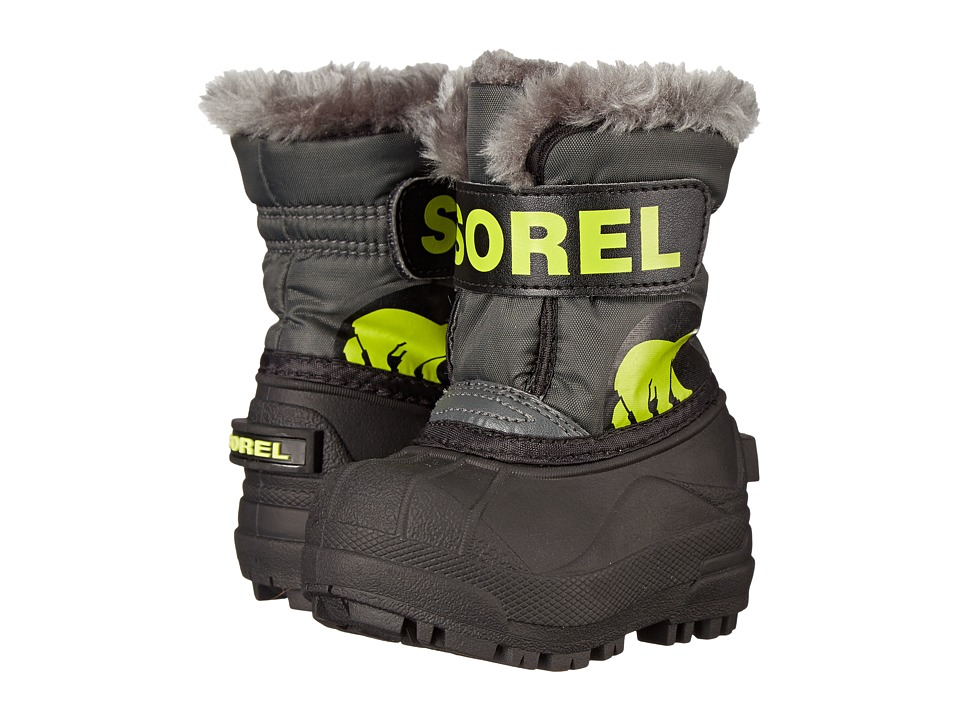 SOREL Kids - Snow Commander (Toddler) (Grill/Fission) Boys Shoes