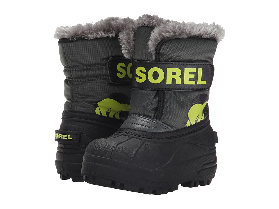 SOREL Kids - Snow Commander (Toddler/Little Kid) (Grill/Fission) Boys Shoes