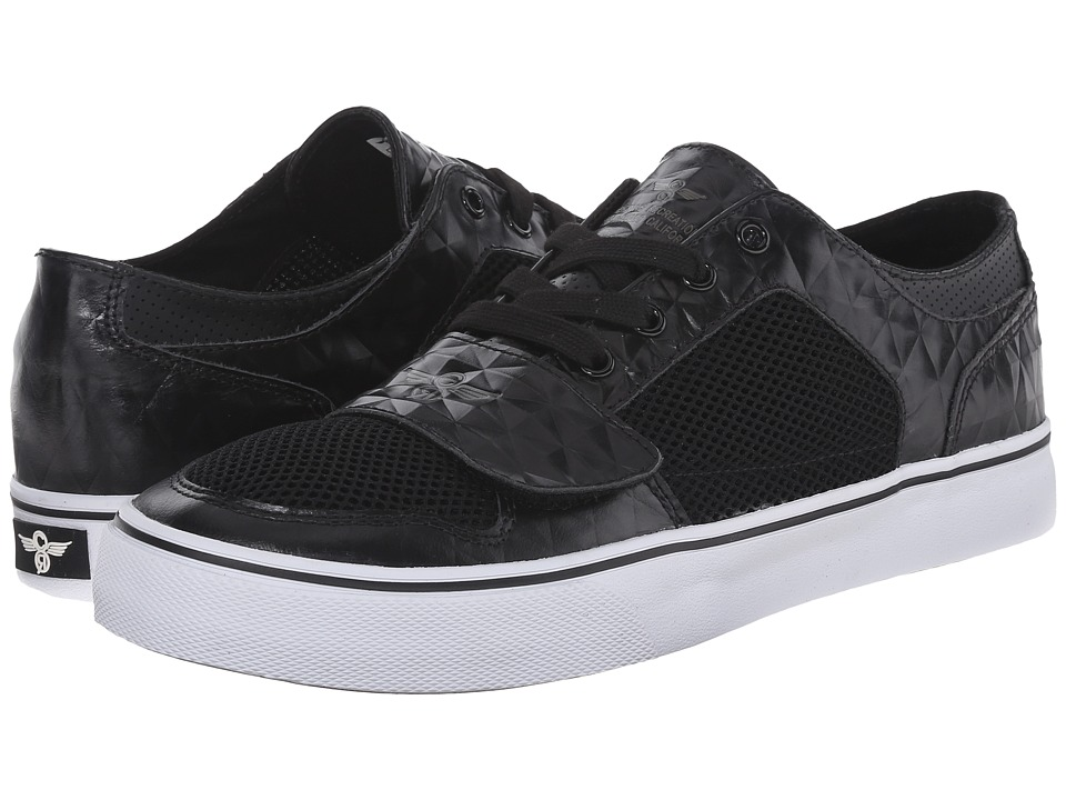 Creative Recreation - Cesario Lo XVI (Black/Mesh/Grey) Men's Shoes