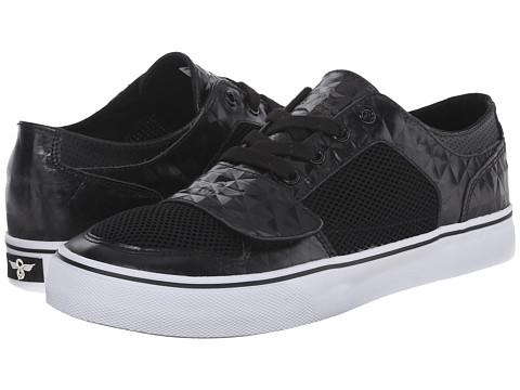Creative Recreation - Cesario Lo XVI (Black/Mesh/Grey) Men's Shoes