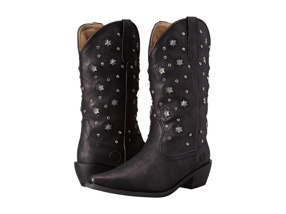 Roper - Starlights (Black) Cowboy Boots