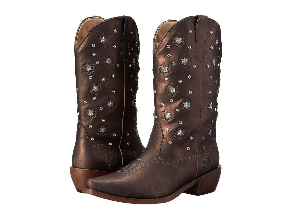 Roper Starlights (Brown) Cowboy Boots