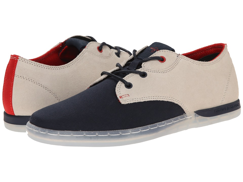 Creative Recreation - Vito Lo (Navy/Vintage/Ice) Men's Lace up casual Shoes