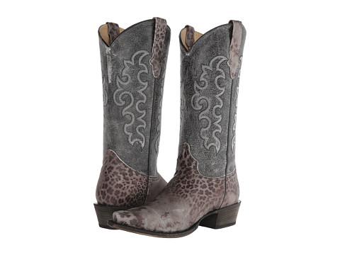 Roper - Tall Kat (Grey) Cowboy Boots