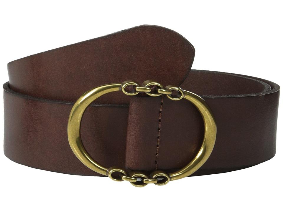 LAUREN Ralph Lauren - Classics 1 1/2 Link Centerbar Belt (Papaya) Women's Belts