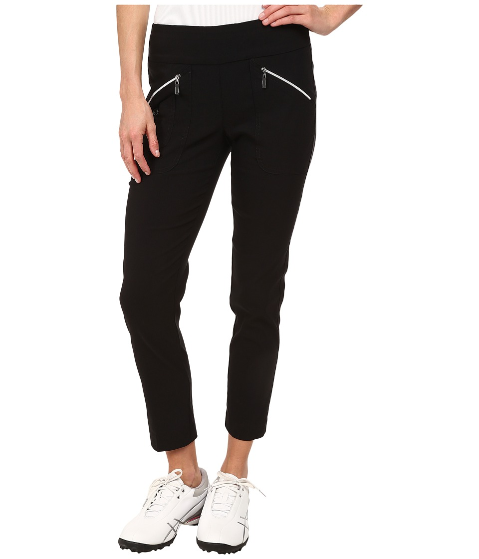 Jamie Sadock - Skinnylicious 35.5 in. Ankle Pant (Jet Black) Women's Casual Pants