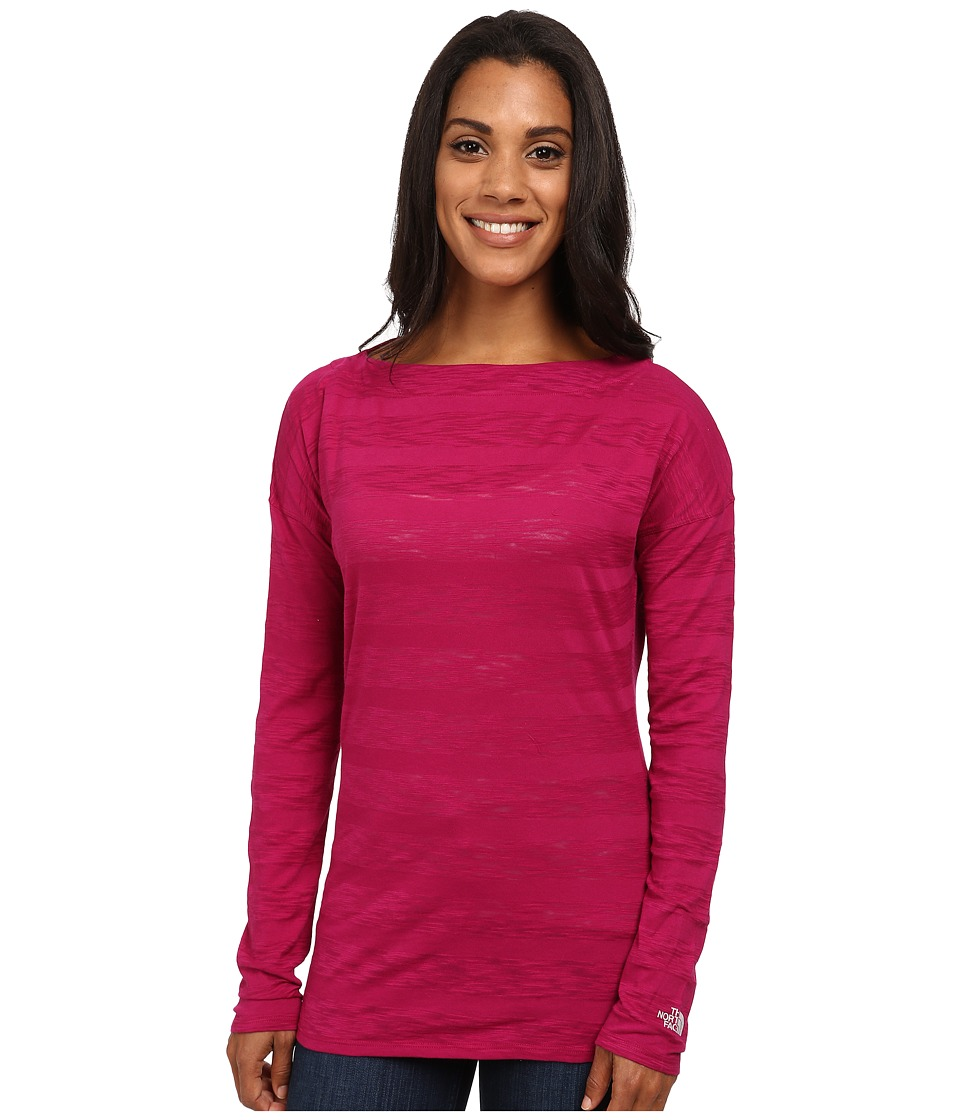 The North Face - L/S Gracie Top (Dramatic Plum) Women's Long Sleeve Pullover