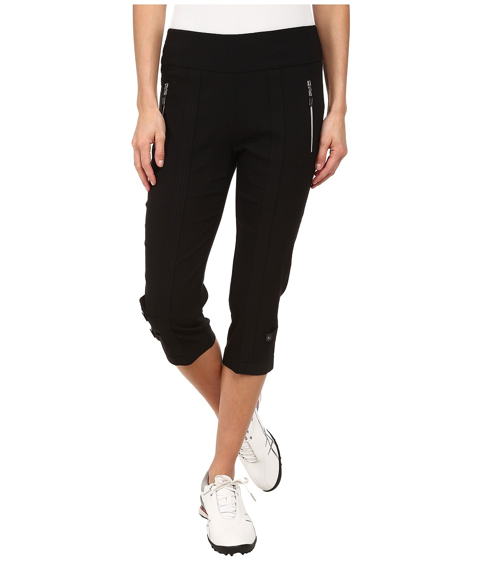Jamie Sadock - Skinnylicious 28.5 in. Pedal Pusher (Jet Black) Women's Capri