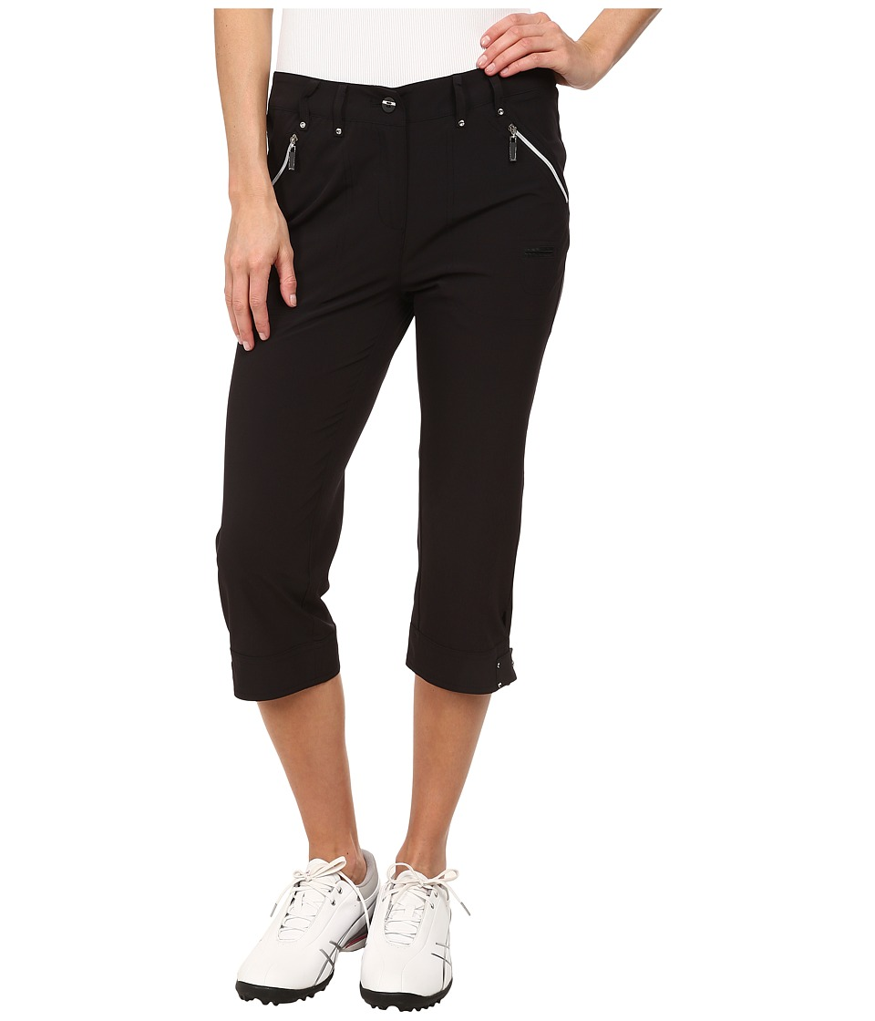 Jamie Sadock - Airwear Light Weight 28.5 in. Pedal Pusher (Jet Black) Women's Capri
