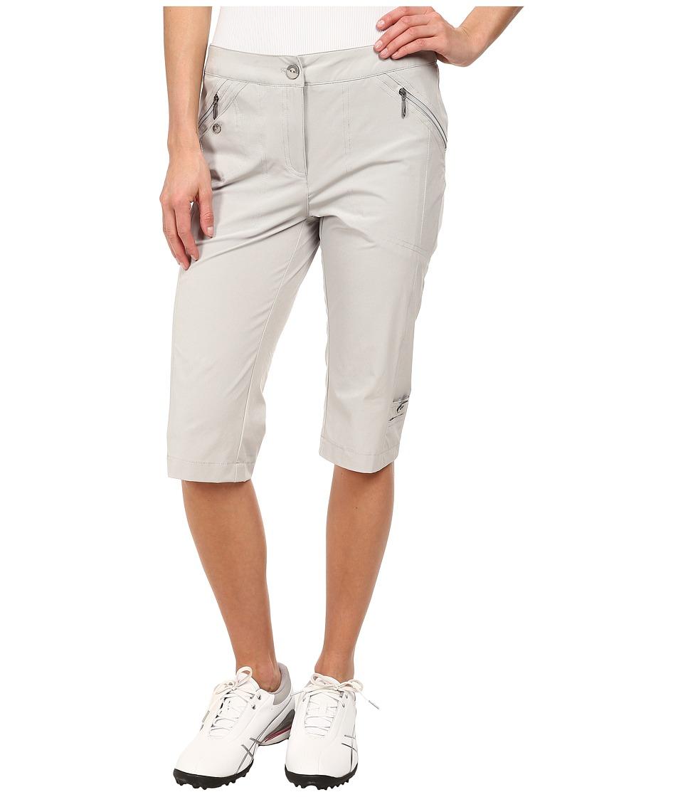 Jamie Sadock - Airwear Light Weight 24 in. Knee Capri (Dove Grey) Women's Capri